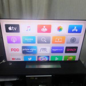 apple tv スマートテレビ