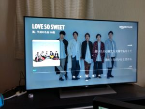 fire tv stick 音楽