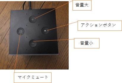 fire tv cube 4k 上部