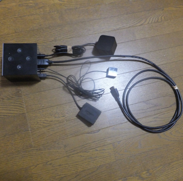 fire tv cube 接続状態 完成形